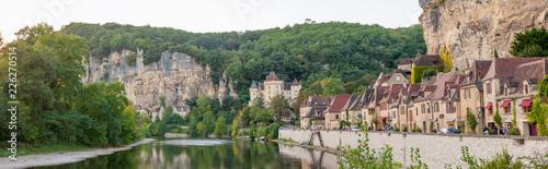 Obraz na płótnie La Roque-Gageac, Dordogne, France