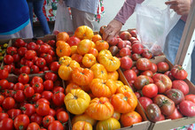 Tomatoes At Open Market