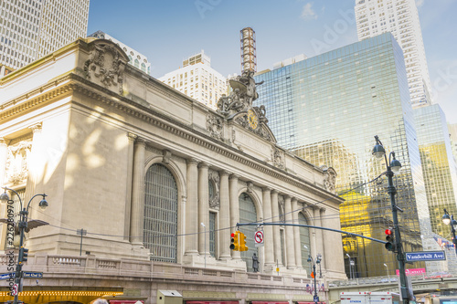Fotografie, Tablou  The Grand Central Terminal in Midtown Manhattan in New York,USA