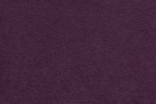 Texture Of Old Dark Purple Paper Closeup. Structure Of A Dense Cardboard. The Violet Background