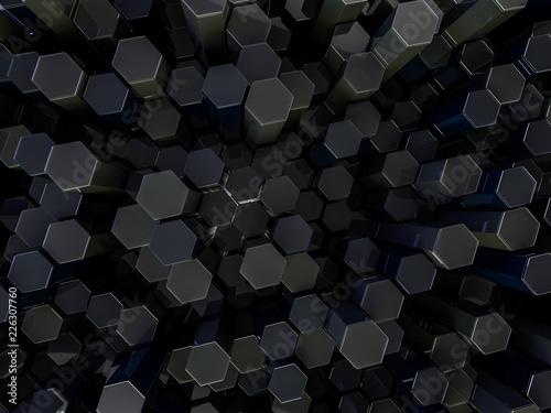 abstrakcjonistyczny-technologiczny-szesciokatny-tlo-renderowanie-3d