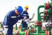 Petrochemical Workers Working ...