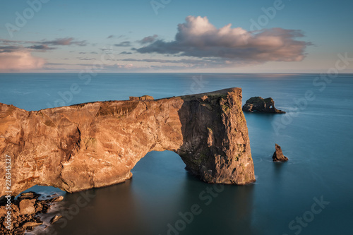 Photo Dyrhólaey Arch, vik, iceland