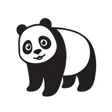 Cartoon Giant Panda