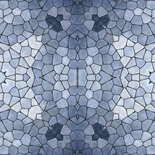 Mosaic Kaleidoscope Seamless P...