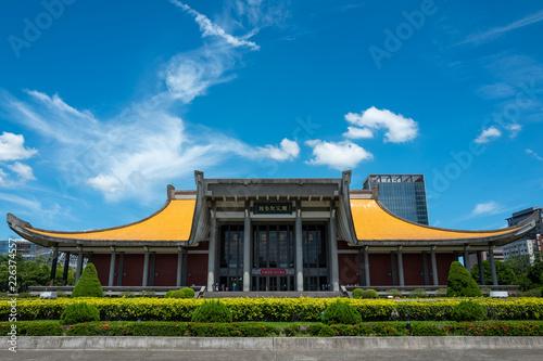 Fototapeta The Sun-yat-sen Memorial Hallin Taipei obraz