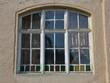 canvas print picture - Altes Holzfenster historisch