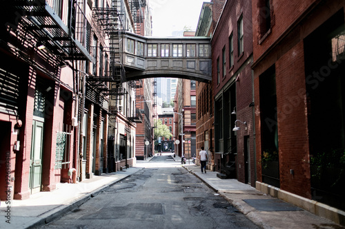 street in new york city Canvas