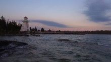 Lighthouse In South Baymouth O...