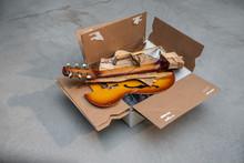 Parts Of Broken Classic Guitar...