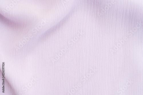 Texture of pale violet silk textile background Canvas Print