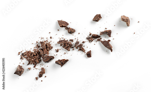 Canvastavla small chocolate crumbs