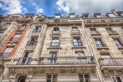 Keuken foto achterwand Centraal Europa Facade of Parisian building