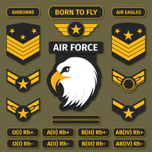Military Badges And Army Patch...