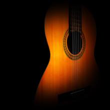 Acoustic Guitar. Classical Spa...