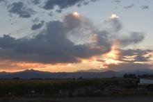 Fiery Colorado Sky