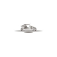 Buggies Desert Car Icon. Element Of Desert Icon For Mobile Concept And Web Apps. Hand Draw Buggies Desert Car Icon Can Be Used For Web And Mobile