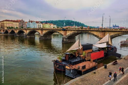 Staande foto Praag Prag, Palackeho Most