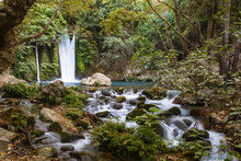 The Banias Nature Reserve At The Foot Of Mount Hermon, North Of The Golan Heights, Israel.