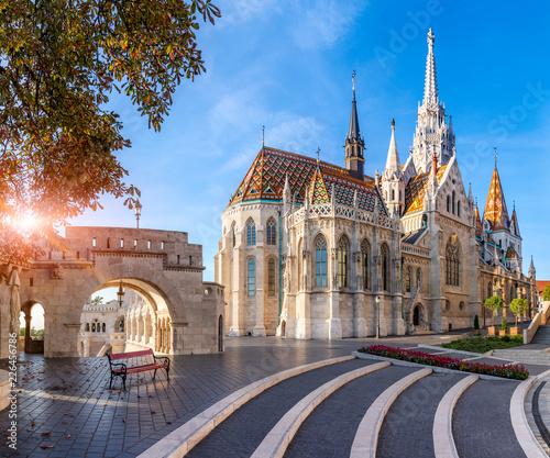 Foto op Plexiglas Historisch geb. Matthias Church, Budapest