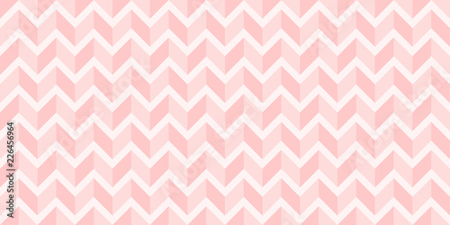 fototapeta na ścianę Background pattern seamless modern abstract sweet pink zigzag vector design.