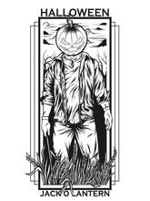 Halloween Party Black White Concept
