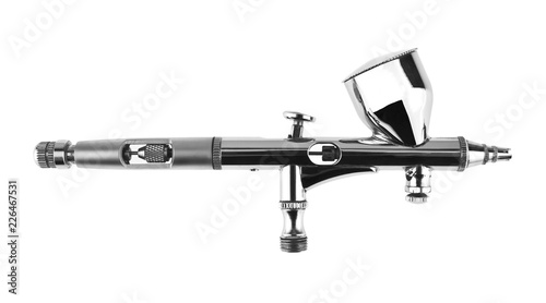 airbrush isolated on white background Wallpaper Mural