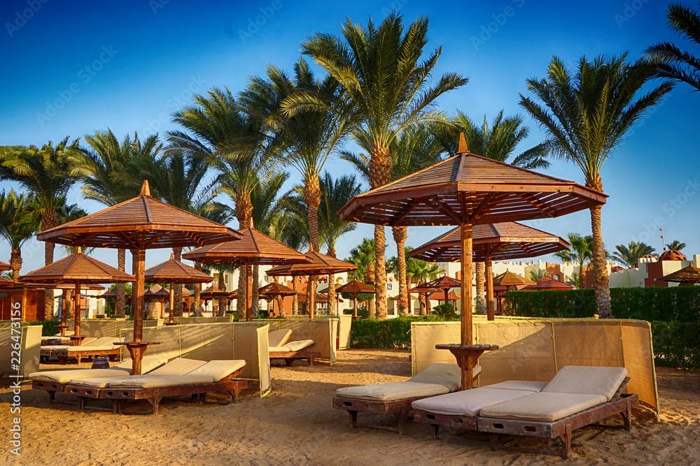 Fototapeta beach in the egypt