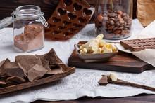 Preparation Handmade Chocolate...