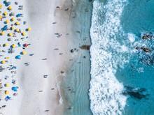Cape Town Beach Clifton Campsbay Aerial