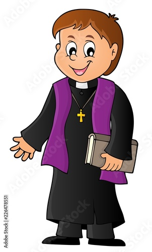 Young priest topic image 1