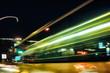 Hamurg Night light laser modern architecture alster street fast trafficlight city car internet bus