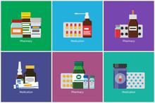 Pharmacy Medication Posters Ve...