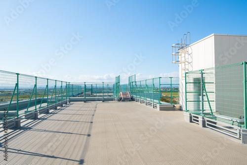 Fototapeta 学校の屋上 obraz