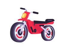 Red Motorbike Stylish Motor Sc...