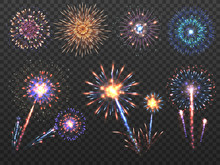 Fireworks. Holiday Firework Ex...