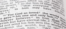 God So Loved The Word That He ...