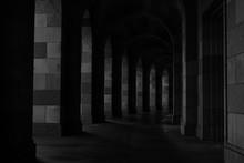 Tunnel Dark Photo Perspective Stone Hall