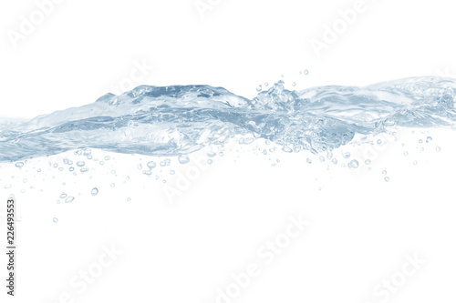 Fototapety, obrazy: Water ,water splash isolated on white background,water