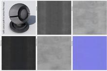 Highres Asphalt Textur Foto-basierend Mit Freistellpfad. Mit Color-, Bump-, Normal-, Displacement- Und Reflection-Map