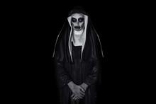 Portrait Of A Frightening Evil Nun
