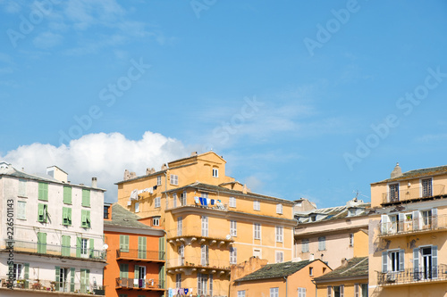 Foto op Plexiglas Europese Plekken old town of Bastia, in Corsica, France