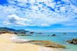 South China sea Vietnam coast rocks