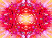 Colourful Kaleidoscope Pattern