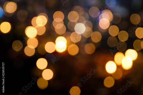 Fotografiet  defocused of lamp light