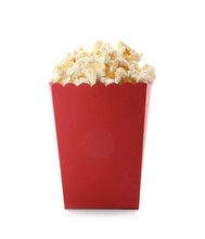 Red Bucket With Delicious Popc...