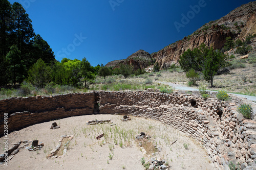 Bandelier National Monument, NM, USA.