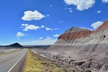 Badlands At Petrified Forest N...