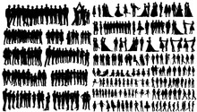 Silhouette People, Collection