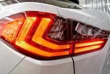 Taillight, Headlight Of Modern...